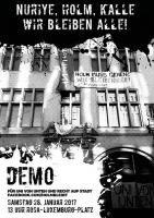 Aufruf zur Stadt von unten - Berliner Mieter/Holm-Demo am 28.1.2017