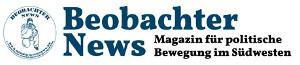 Logo: Beobachter News - Magazin fürpolitische Bewegung im Südwesten