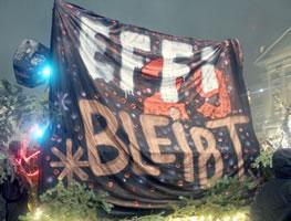 Bern (CH): [Effi29] Nach Haus-Räumung in Bern: Militanter Widerstand