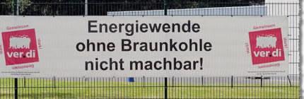 """ver.di-Transparent: """"Energiewende ohne Braunkohle nicht machbar!"""""""