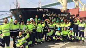 Februar 2017: Spanische Docker im Widerstand gegen europäisches Privatisierungsdiktat, gegen eine willfährige Regierung – und gegen die Hetze der Lügenpresse