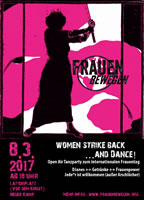 8. März 2017 in Hamburg: WOMEN STRIKE BACK…  AND DANCE!