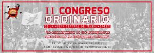 Plakat 2. kongress der mexikanischen NCT Ende Januar 2017
