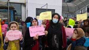 Hungerstreik afghanischer Flüchtlinge in Athens Horrorlager Hellinikon