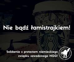 Polen: Kein Streikbruch bei Starbucks!