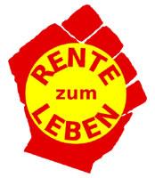 Logo des Bündnisses Rente zum Leben
