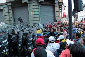 Das Ende der obigen Demonstration