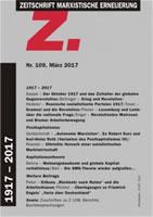 """Zeitschrift Marxistische Erneuerung """"Z"""" Nr. 109 vom März 2017"""