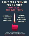 """Frankfurt/M.] """"Am 8. März zeigen wir uns solidarisch: Mit allen, die sich als Frauen identifizieren, mit dem International Women's Strike// Paro Internacional de Mujeres #8M weltweit"""