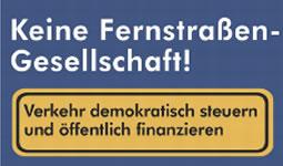 Petition: Bundesfernstraßengesellschaft verhindern