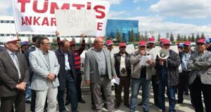 Gewerkschaft Tümtis demonstriert gegen DHL in Izmir 2009