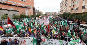 Marsch der Würde Sevilla am 28.2.2017