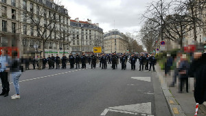 Demonstration gegen Polizeiterror in Paris 19.3.2017