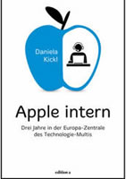 """Buch von Daniela Kickl: (""""Apple intern""""  beim Verlag """"edition a"""""""