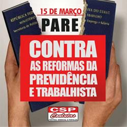 Brasilien: Der Kampftag gegen Rentenkürzung am 15. März 2017