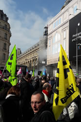 Gedenkveranstaltung für Edouard L. am 15.3.2017 in Paris - Foto von Bernard Schmid