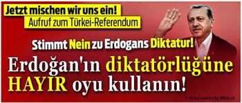 """Hayir: Bundesweite Initiative für das """"Nein!"""" beim Referendum in der Türkei"""