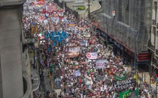 Argentinischer Lehrerstreik: Demonstration Buenos Aires am 7.3.2017