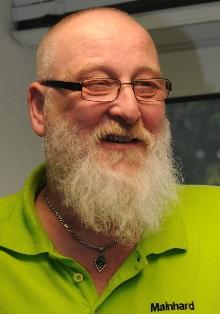 Mainhard Schmidt, Mitglied der alternative, Betriebsgruppe im Mercedes Benz Werk Hamburg