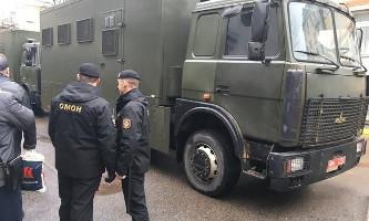 Vor den festnahmen durch die Minsker Polizei am 12.3.2017 - Proteste gegen die Erwerbslosensteuer sind denn doch verboten