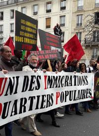 [19. März 2017] Demonstration gegen Polizeigewalt in Paris - Foto von Bernard Schmid