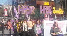 Aktionen zum 8. März 2017 in der Türkei
