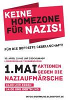 Brauner 1. Mai 2017: Keine Homezone für Nazis in Dortmund und Essen!