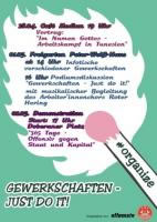 """Aufruf """"2. Mai 2017 - 365 Tage offensiv gegen Staat und Kapital"""" zur Demo in Rostock ab 17 Uhr am Doberaner Platz"""