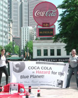 Internationaler Black Planet Award: Coca Cola verweigert AktionärInnen den Zutritt zur Hauptversammlung