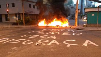 [28. April 2017] Generalstreik in Brasilien