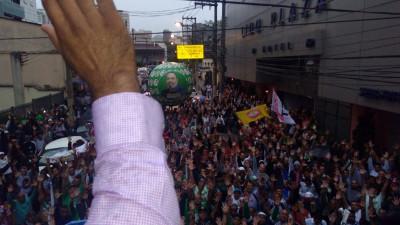 Trotz gerichtlichem Verbot: Die Vollversammlung der Busfahrer von Sao Paulo beschließt Teilnahme am Generalstreik 28.4.2017 - einstimmig...