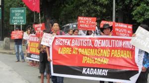 Hausbesetzer in Quezon im März 2017
