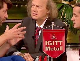 """""""IGitt Metall"""" aus der ZDF-Anstalt vom 16.05.2017"""