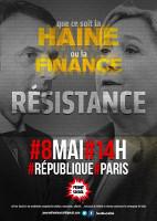 Erste Demo nach der Wahl - egal, wer gewinnt, am 8.5.2017 in Paris