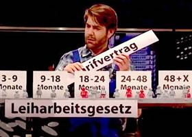 """ZDF-Sendung """"Die Anstalt"""" vom 16. Mai 2017: Das Arbeitnehmerüberlassungsgesetz"""