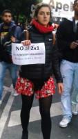 Gegen das 2x1 Gesetz - keine Amnestie für Verbrechen der Militärdiktatur 10.5.2017 in Buenos Aires
