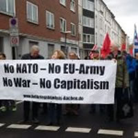 No NATO - No EU-Army - No War - No Capitalism