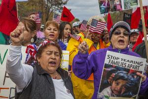 Viele Demonstrationen auch in kleineren Städten der USA am 1. Mai 2017
