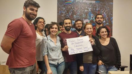 Dank von sendika.org für die Spendenkampagne vom 19.6.2017