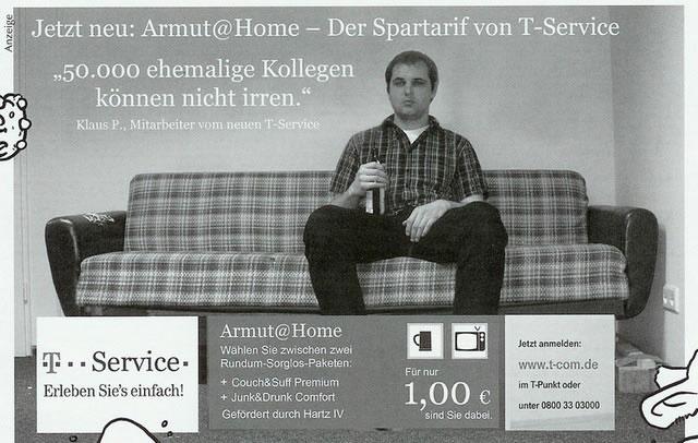 Armut@Home - Der Spartarif von T-Service