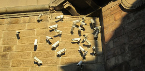 Anti Überwachungsplakat Wien