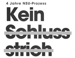 """Aufruf """"Kein Schlussstrich!"""" des Münchner Bündnisses gegen Naziterror und Rassismus vom Mai 2017 für die Vorbereitung einer Demonstration am Tag der Urteilsverkündung"""