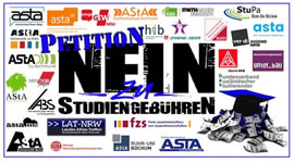 'Keine Studiengebühren in NRW!