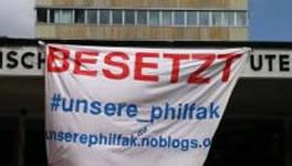 """Philosophische Fakultät in Marburg besetzt: """"Entweder das schöne Leben oder nichts!"""""""