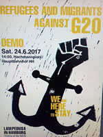 Demonstration: We are here! Wir sind hier! am Sa 24.6.2017 in Hamburg