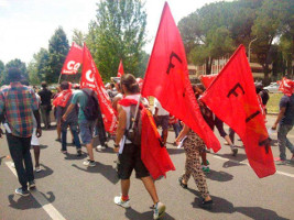 Fiat Empoli Streikdemo 30.6.2017