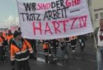 """Demo des Komitee """"Wir sind der GHB!"""""""