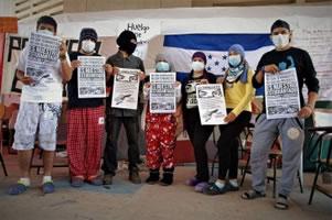 Hungerstreik der Studenten in Honduras im Juli 2017