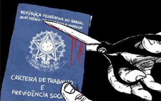Im Sozialversicherungsausweis Brasiliens sind auch die grundlegende Rechte dokumentiert...