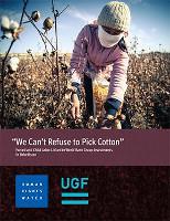 Titel des 2017 von HRW über das Sponsoring der Weltbank für Zwangsarbeit in Usbekistan